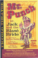 mr punch and Jack and the Blase Bride